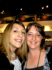 Me and Candy-Quarry Books Booth!