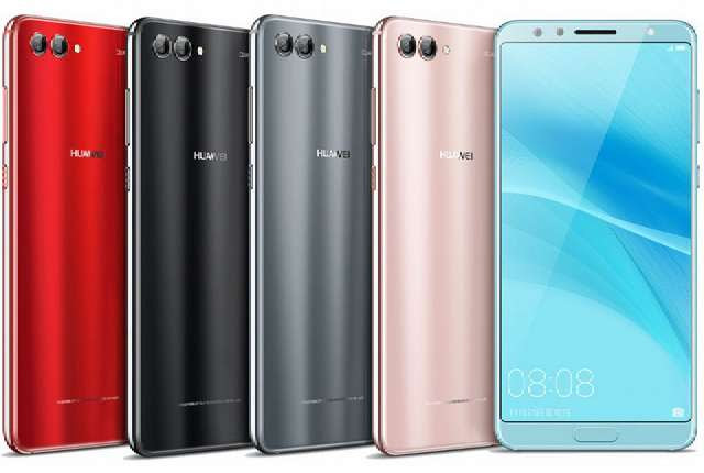 Huawei Nova 2s in colors