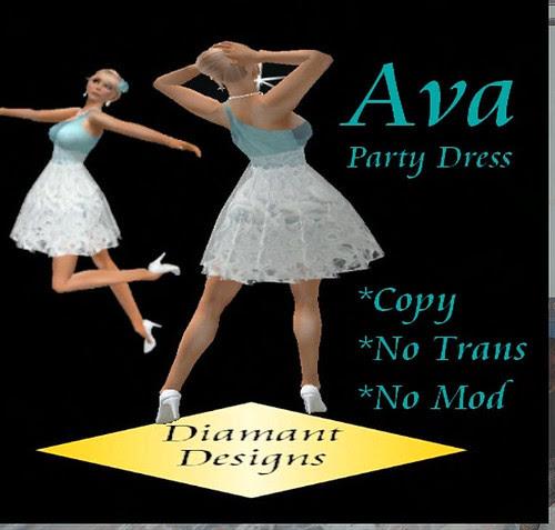 35L Thursday Diamant Designs party dress