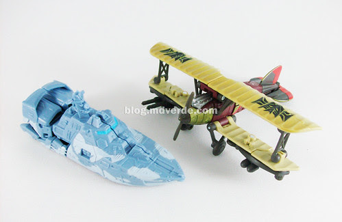 Transformers Depthcharge y Ransack Scout RotF - modo alterno