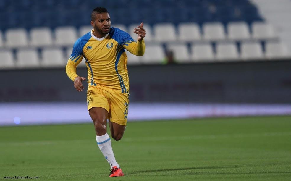 Jogador do Al Gharafa morre após ser baleado no rosto em Guarujá (Foto: Al Gharrafa / Divulgação)