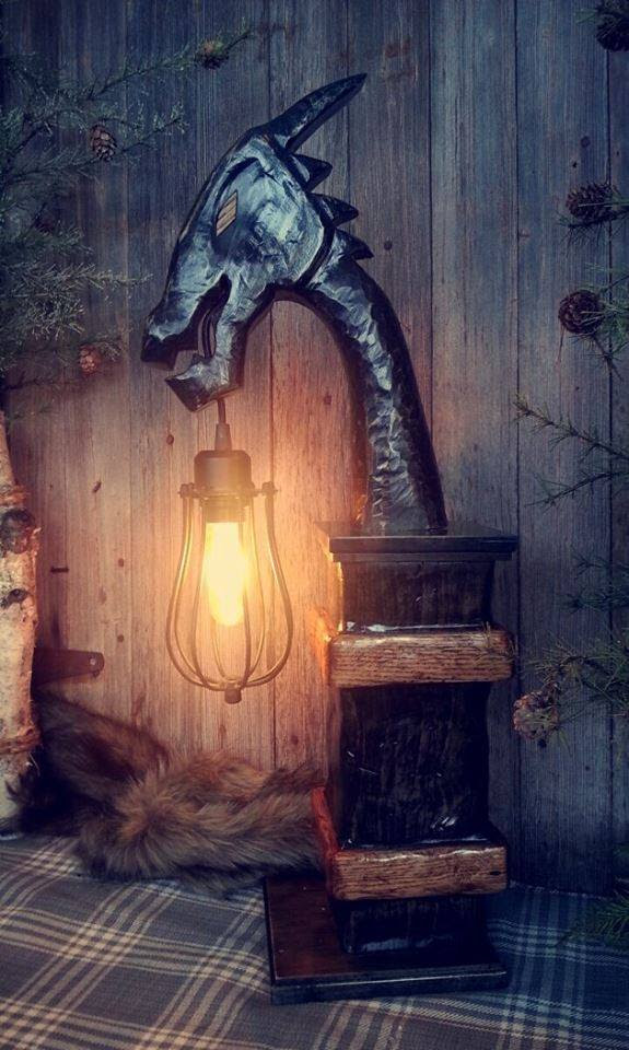 master  world  warcraft howling fjord lamp