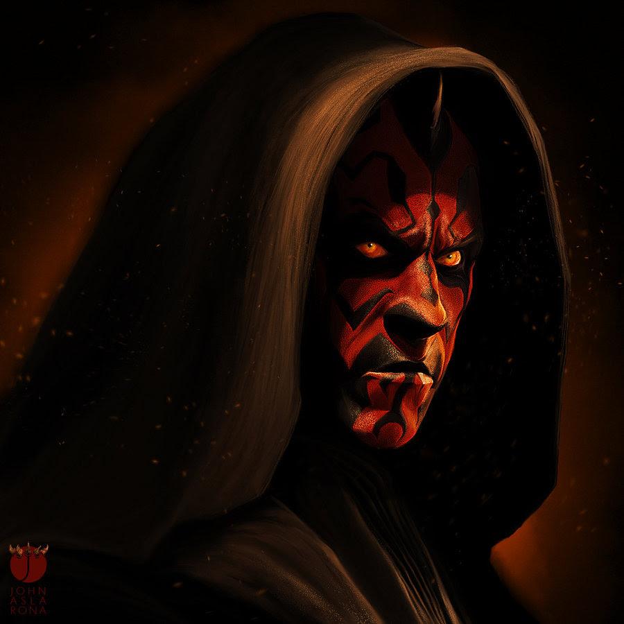Star Wars Obi Wan Qui Gon Darth Maul Wallpapers Hd Wallpapers 900x900