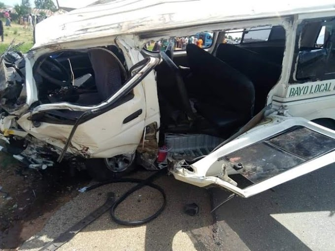 Bus Conveying 2 FUNAABITES For Youth Service Got Involved In A Serious Accident