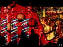 劍橋大學校慶燈光表演