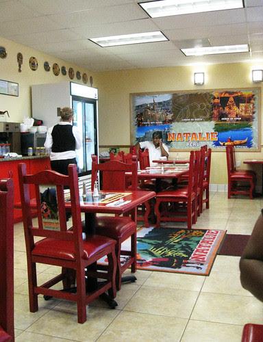 Lunch at Natalie Peruvian Restaurant