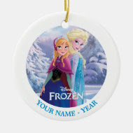 Sisters Personalized Christmas Tree Ornament