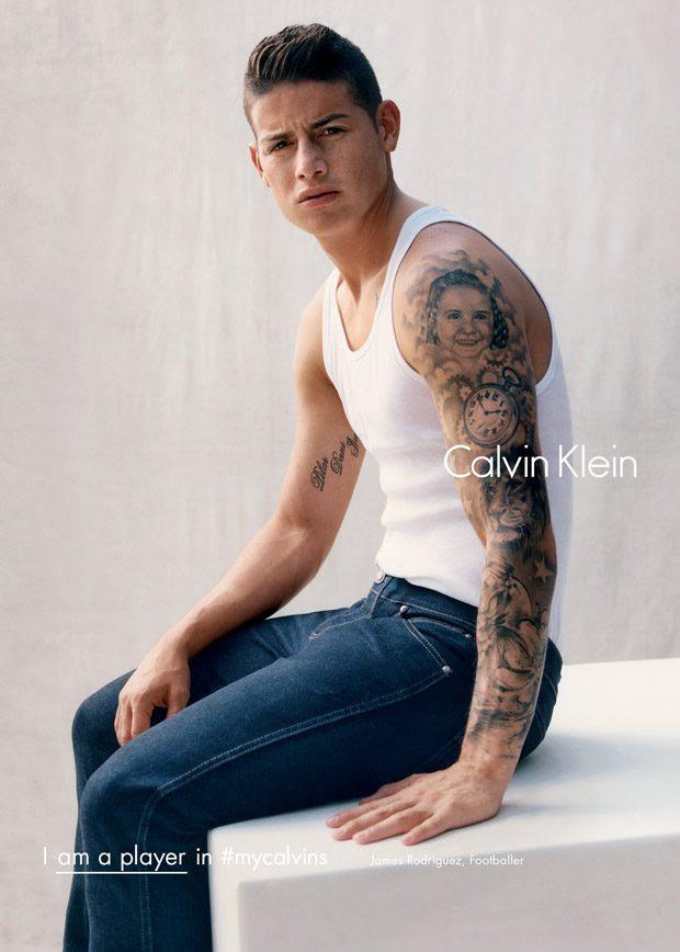 James Rodriguez Por Calvin Klein Chismes Y Más Hello