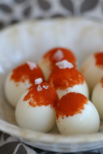 Quail eggs with Pimentón / Vutimunad suitsupaprikaga