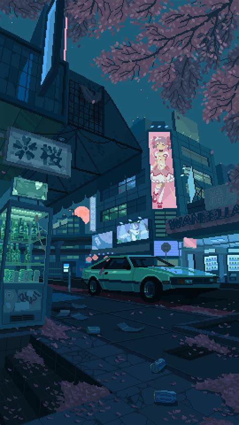 anime aesthetic gif wallpaper kumpulan ilmu