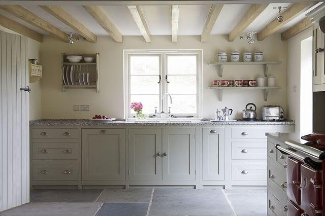 Kitchen....Farrow and Ball French Gray units