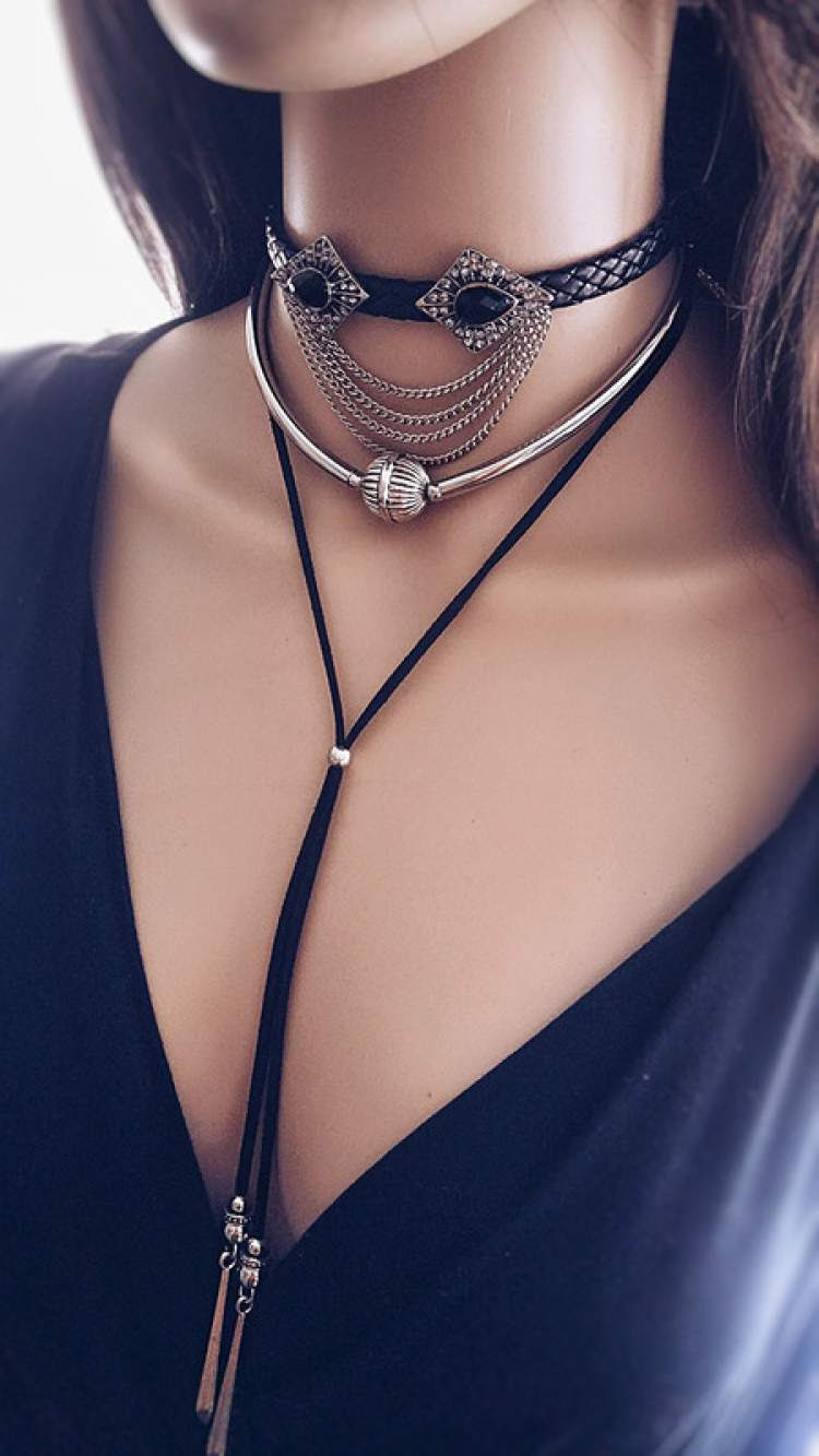 Chocker no estilo boho