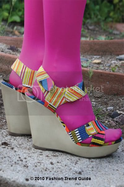 Cynthia Vincent for Target printed wedges