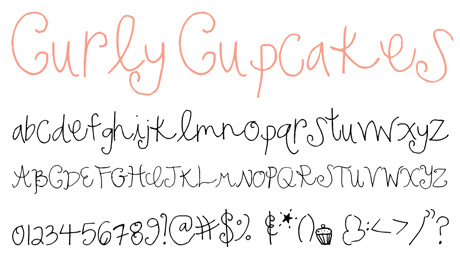 click to download Curly Cupcakes