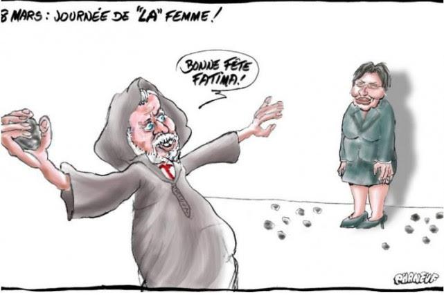 Cette caricature a été publiée dans LeCourrier du... (ILLUSTRATION TIRÉE DE L'INTERNET)