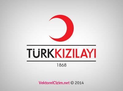 Vektörel çizim Türk Kızılayı