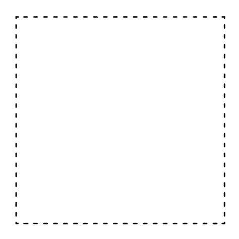 bahan edit foto dotted  frame frame garis putus putus