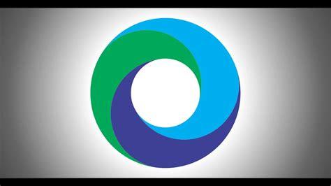 circle logo design  coreldraw coreldraw tutorials