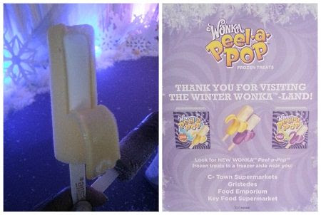 Winter WONKA-land Pop-Up and Peel-a-Pop Frozen Treats