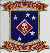 US Marine Corps Raider PATCH