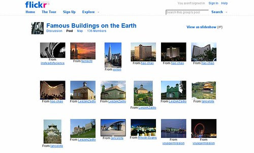 Famous Buildings on the Earth