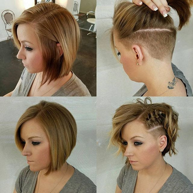 Hairstyles Undercut Bob Hairstyles 2018