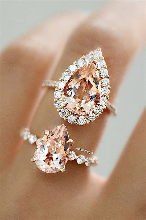 36 Morganite Engagement Rings We Are Obsessed With   Ring