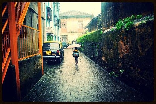 Bandra Back Lanes Nostalgia And The Rains by firoze shakir photographerno1