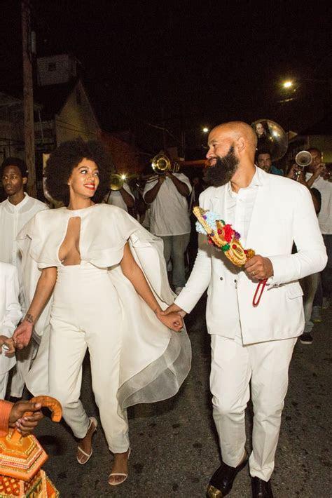 Solange Knowles Wedding Dress   POPSUGAR Fashion