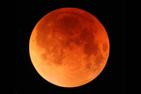 """There will be a string of four """"blood moons"""" in the year 5775, and one of them will shine over the Passover seder. Whenever this happened in the past, enormous events took place in Jewish history."""