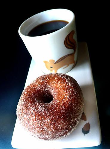 cinnamon vanilla sugar honey brioche doughnut