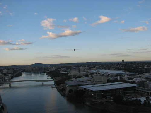 Hot Air over SouthBank