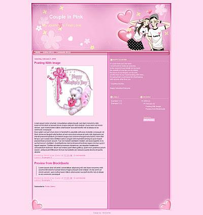 http://skincorner.com/wp-content/uploads/2009/02/couple-in-pink-blogger-template.jpg