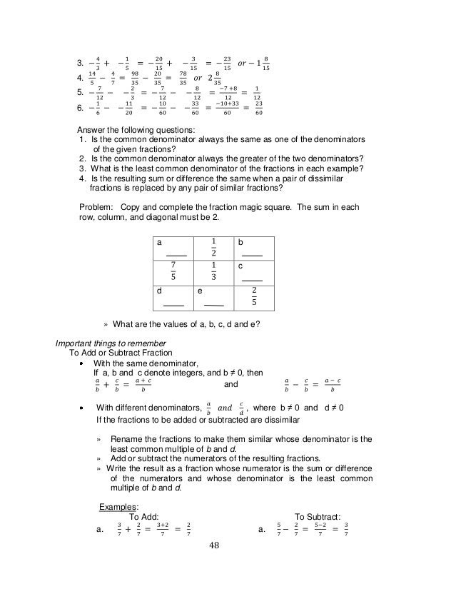 k to 12 grade 7 learning module in mathematics q1q2 48 638