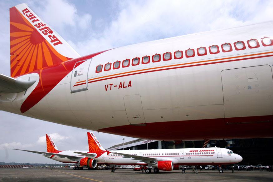 air india international flight