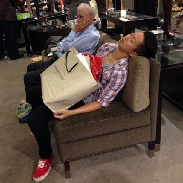 miserable men instagram men shopping with their wives and girlfriends (4)