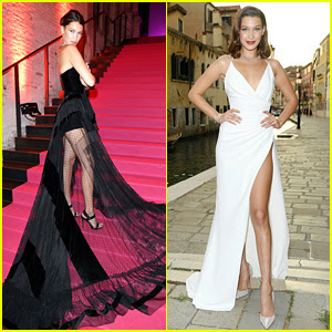 Bella Hadid Has Two Major Fashion Moments in Venice!