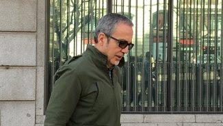 José Ángel Hidalgo, funcionari de la presó d'Estremera, després de declarar davant d'Institucions Penitenciàries