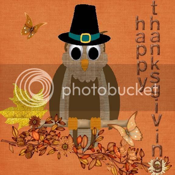 Autumn,Owl,Thanksgiving