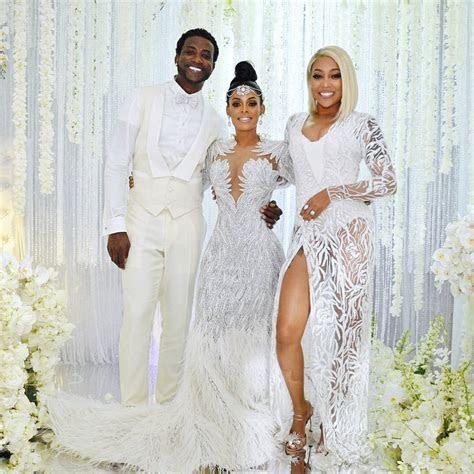 Monica at Gucci Mane and Keyshia Ka'oir's Wedding