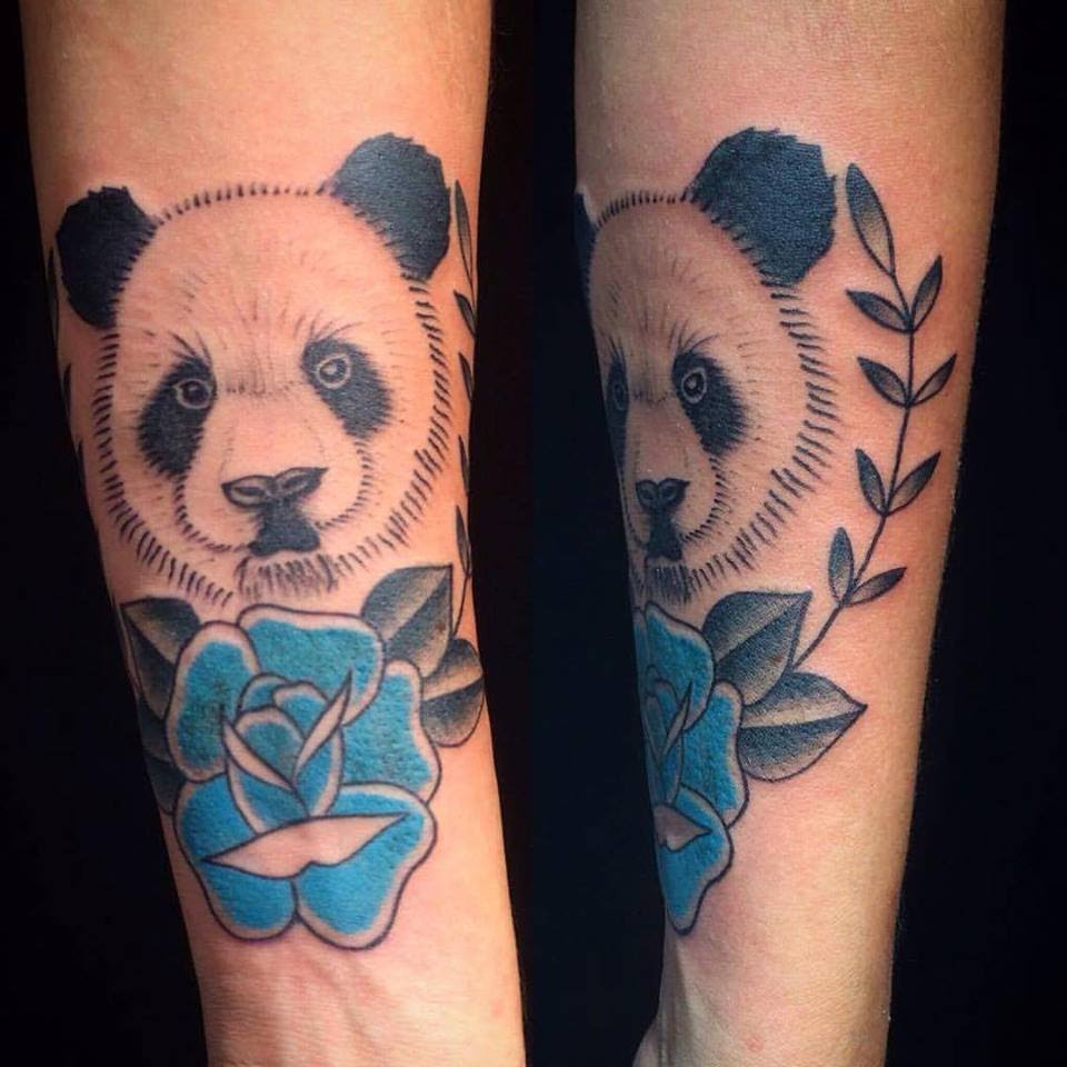 59 Amazing Panda Bear Tattoo Ideas For Girls