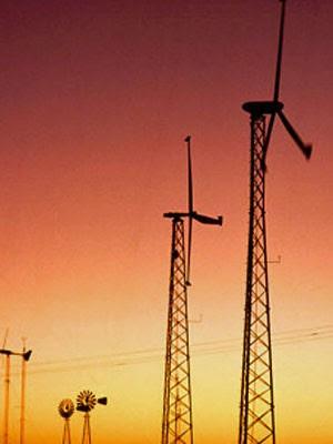 Fazenda eólica no Texas  (Foto: Foto USDA/WikiCommons)