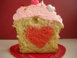 Bake a heart into a cake! If you're too shy to tell someone you love them, you can just let the cake do the talking.Here's how you do it.
