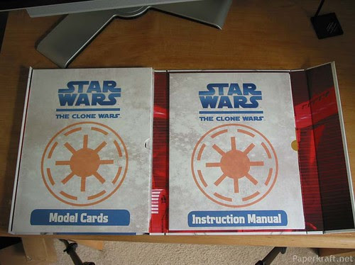 Star War Paper Model Kit 6
