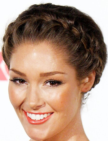Trendy Braided  Updo  for long  hair Hairstyles  Weekly