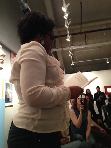 Tonya Foster at Chris Stackhouse book launch