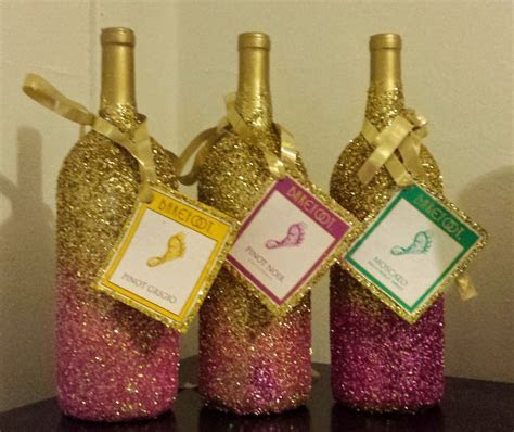 How To Decorate A Wine Bottle For A Wedding