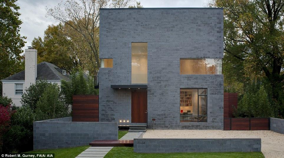No place like home; The exterior of the Bethesda home