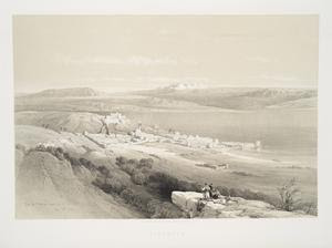 Tiberias, looking towards Herm... Digital ID: 83004. New York Public Library