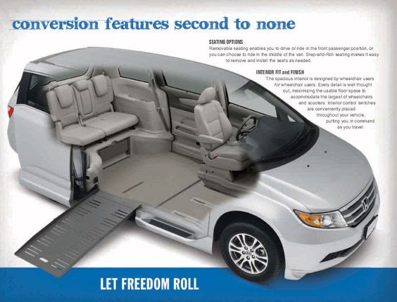 Honda Odyssey Handicapped Conversion Van I Would Love A